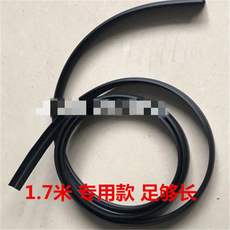 Front windshield plastic panel rubber strip front windshield trim panel rubber strip for all models