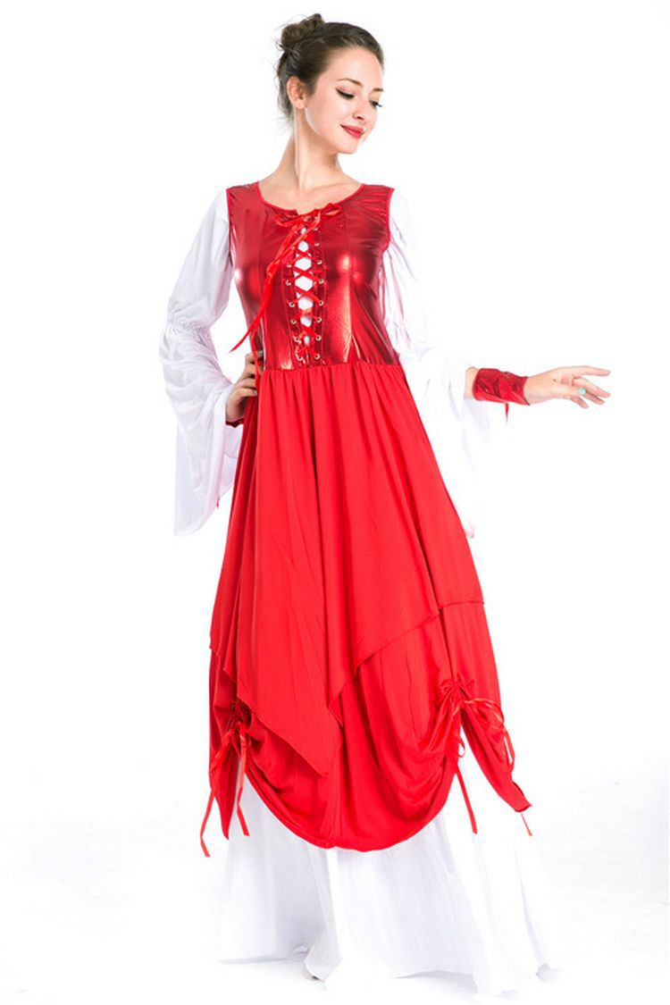 European and American game uniform medieval palace Princess Costume role playing lady stage costume