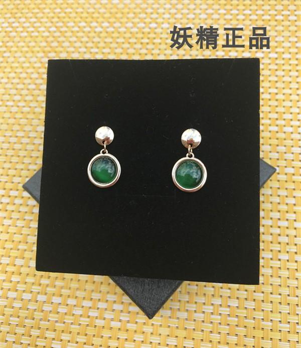 日本不退不换!工厂清货装饰品耳环