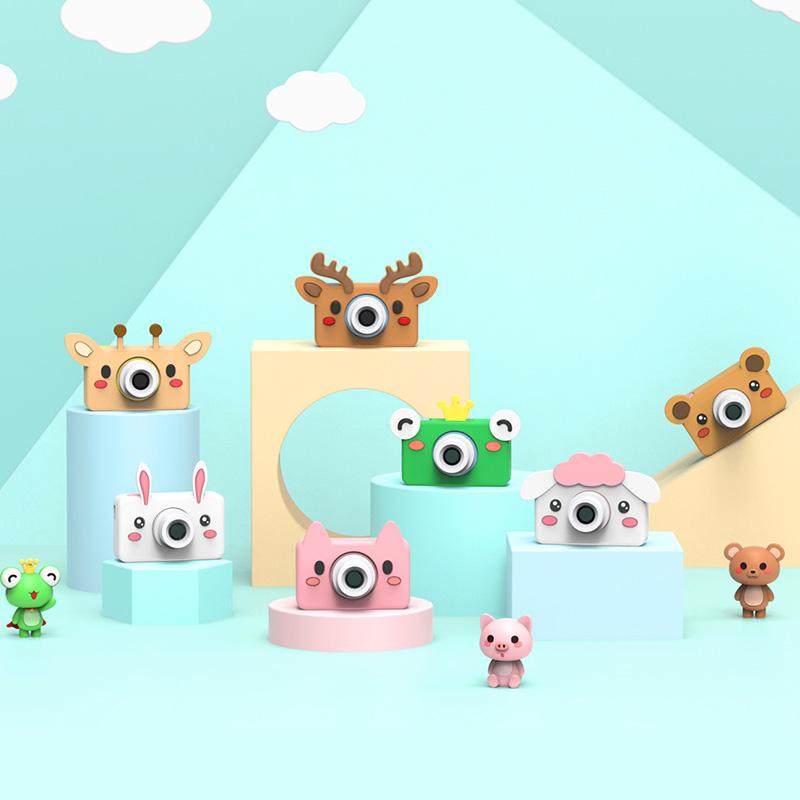wifi萌卡丘儿童数码相机玩具可拍照宝宝迷你小单反高清卡通礼物
