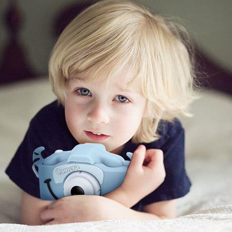 儿童数码照相机 2000万可拍照1600宝宝玩具 迷你便携小单反男女孩