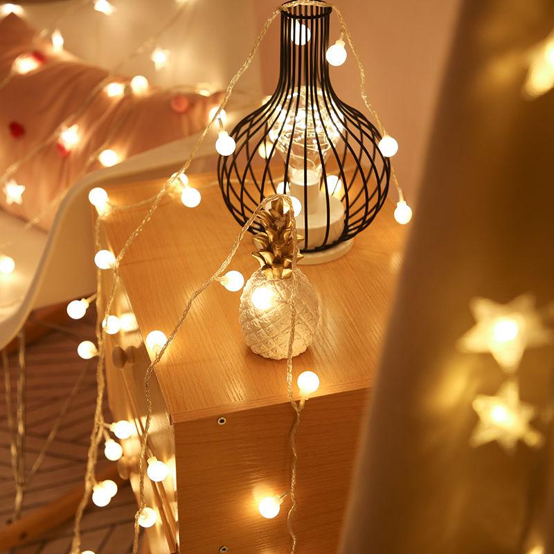タオバオ仕入れ代行-ibuy99 LED灯 LED网红灯星星灯房间卧室装饰灯节日圣诞灯小闪灯彩灯挂灯防水灯