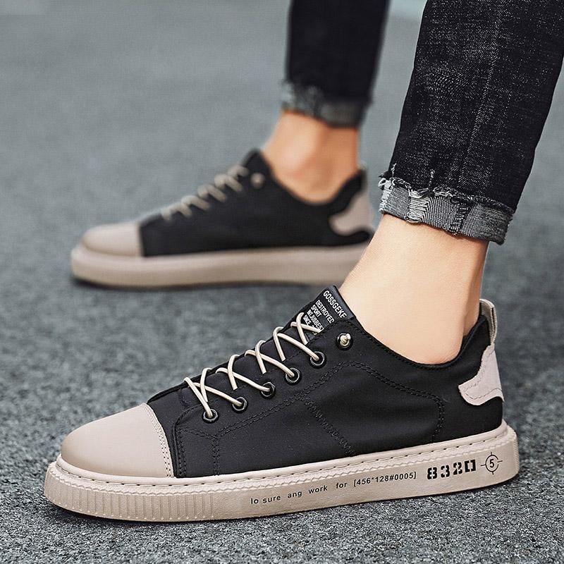 夏季透气百搭冰丝帆布鞋板鞋老北京布鞋男鞋
