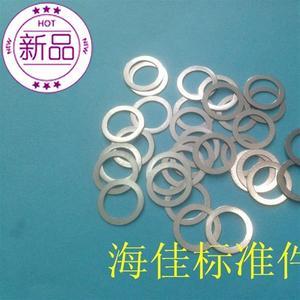不锈钢超薄平垫片M10X12/14/16a/20X0.1/0.2/0.3/0.5小外径平垫圈