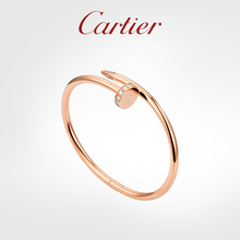 Cartier Cartier Juste un Clou series rose gold yellow gold white gold diamond classic bracelet