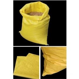 100个装建筑垃圾袋蛇皮袋编织袋装沙袋加厚水泥袋防汛袋子装修垃图片
