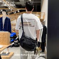 chaofanji 2020新款男机能风斜挎包