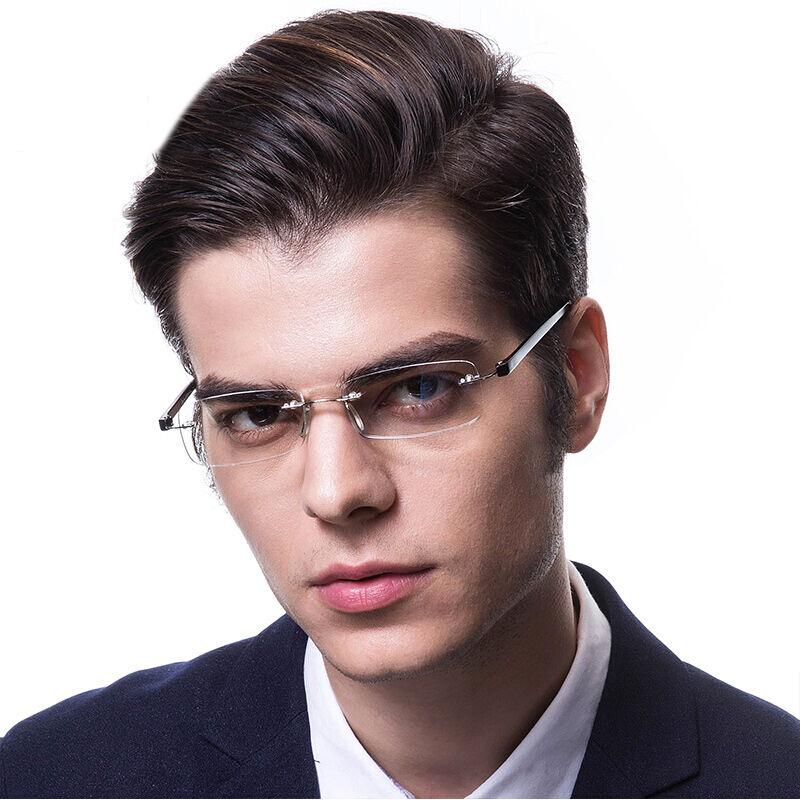 恋上LianSan老花镜品牌男树脂镜片无框老光眼镜女阅读镜 017 250