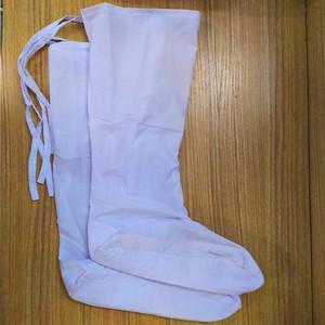 古装布袜男女袜子戏剧戏曲白色云袜小生靴袜影视古装僧袜道士鞋子