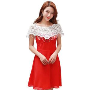 夏季韩版薄款针织蕾丝镂空百搭小披肩短款防晒小坎肩外套罩衫华