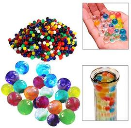 Toy Cubby Adorable Colorful Crystal Water Pearls - 1000 Pear