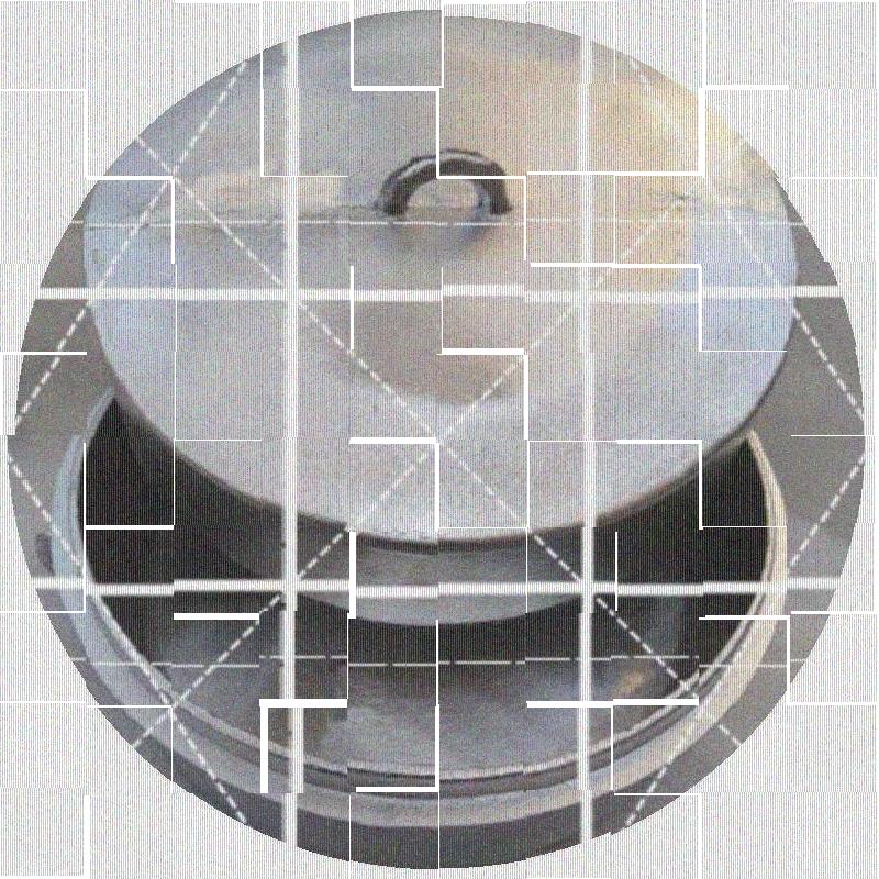 锟锅烧壳子小铝锅铝烧壳 小平底铝锅 烤馍馍手工铸铝 翻砂上下锅