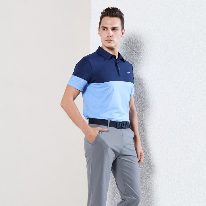 Eagegof new golf mens short sleeve T-shirt summer outdoor sports casual polo