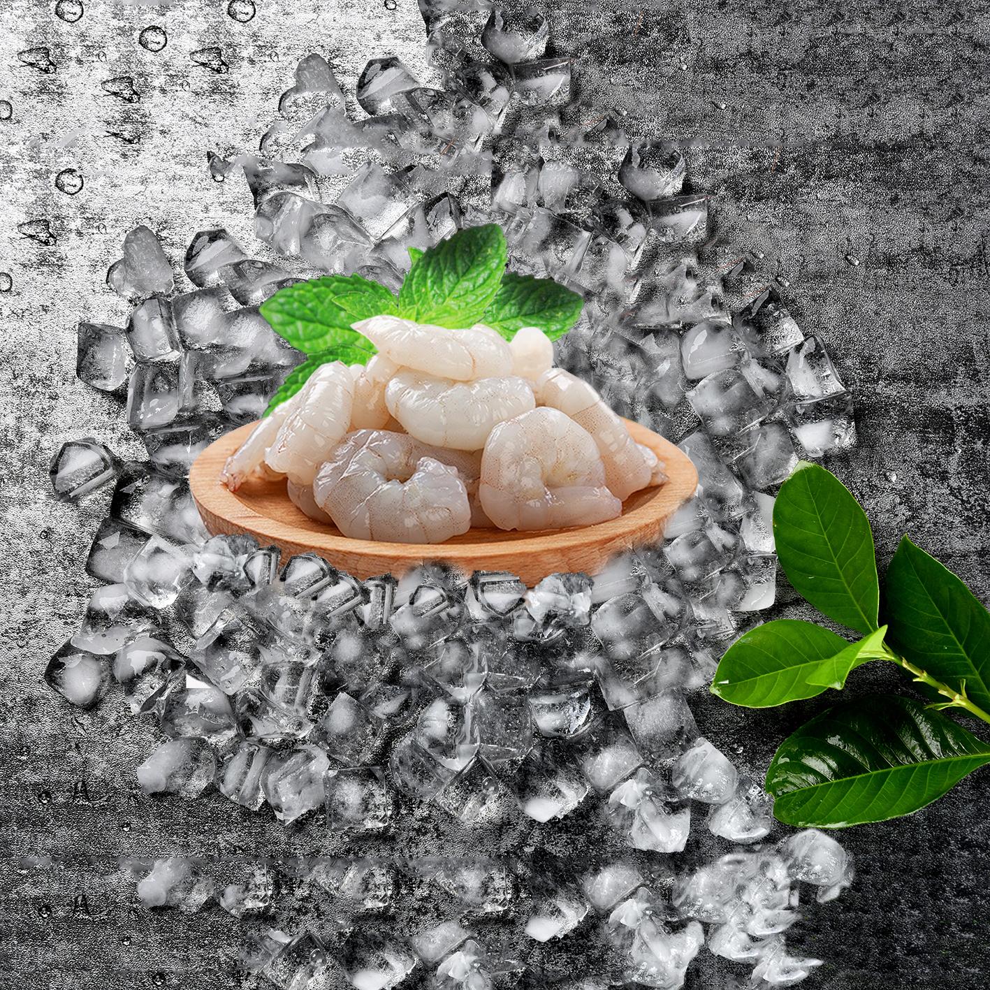活剥南美青虾仁700g 白对虾冷冻大虾仁虾仁水晶虾仁新鲜海鲜