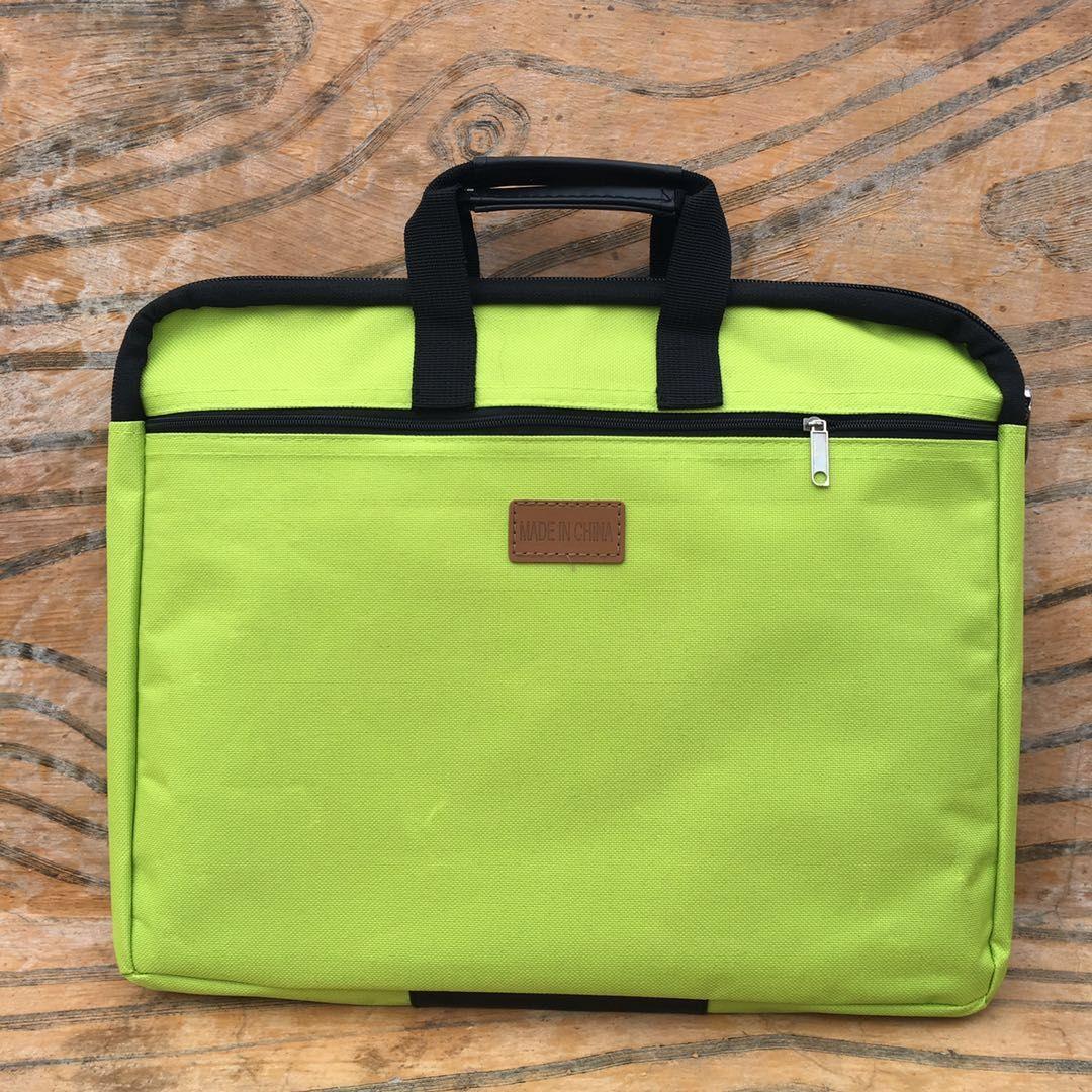 B4 zipper large capacity handbag pouch Korean Information Bag Canvas