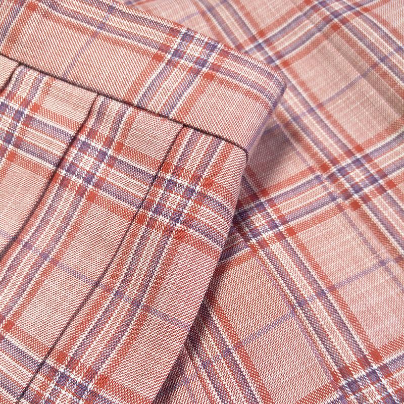 正统JK裙 日系学院女学生基础款中短裙 原创正版jk制服格子百褶裙限时2件3折