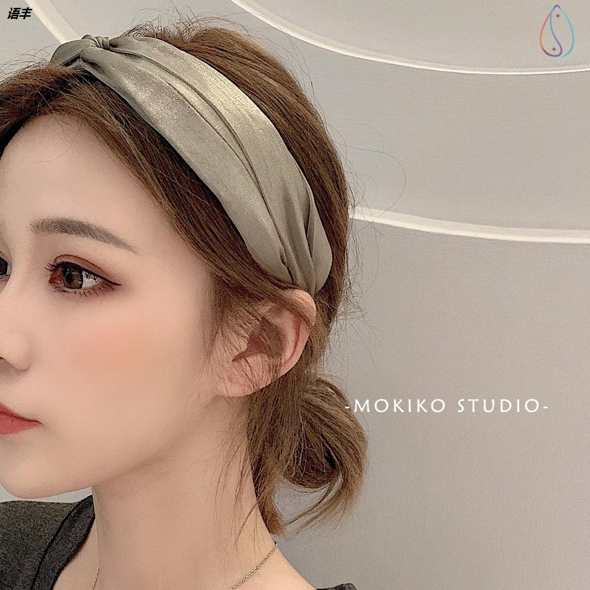 Rabbit ear hair hoop long hair ornament transition period hair care artifact combing and finishing short hair embarrassing period