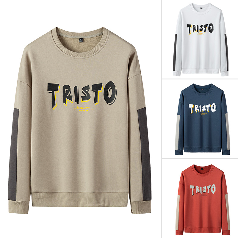 Spring and autumn mens loose sports Pullover Korean mens wear official flagship store official website