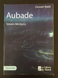 du Nord原版乐谱书 斯特凡 明特金斯 欧巴德晨曲 总谱 Steven Mintjens Aubade Score LEDN 6004s