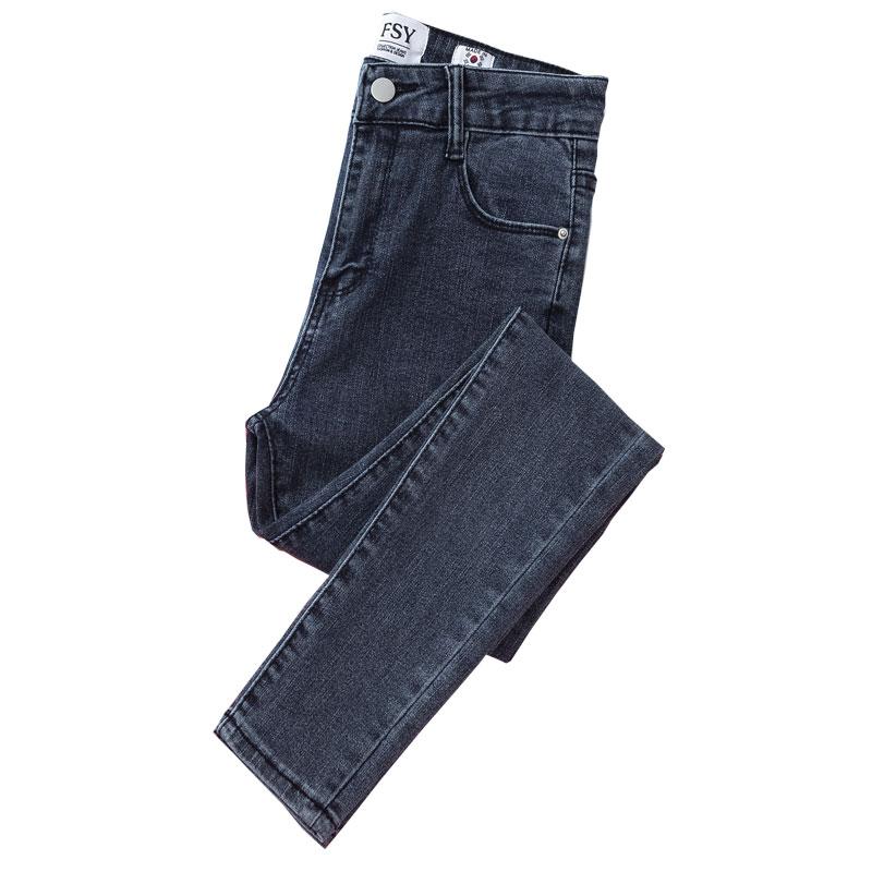 高腰子女2021年新款春秋修身牛仔裤能入手吗