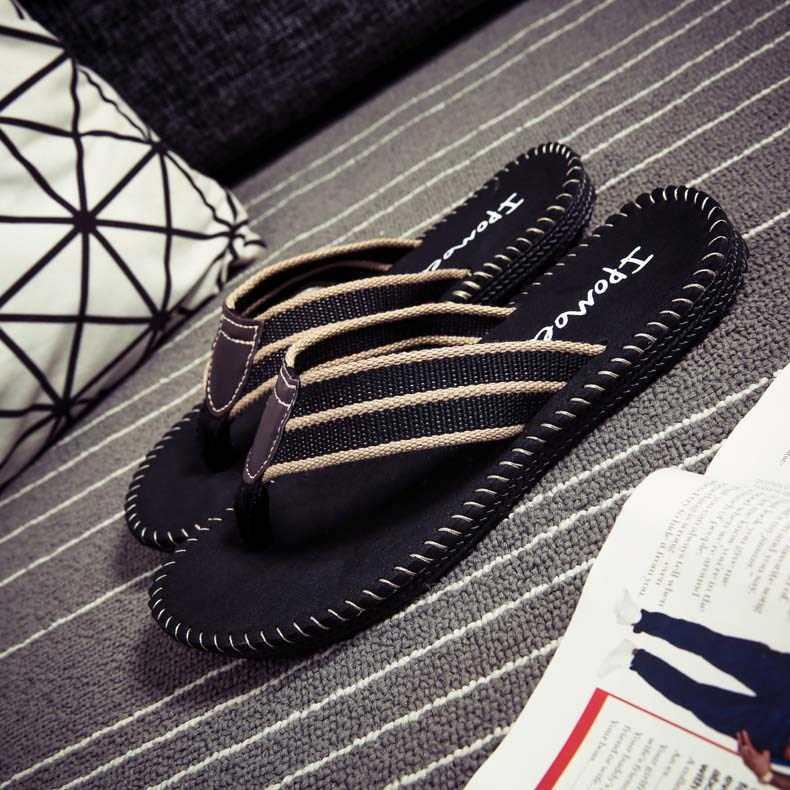 人字拖男防滑韩版潮流男士沙滩个性凉拖夏季越南拖鞋男款夹脚拖鞋