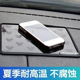 汽车摆件防滑垫仪表台置物垫 车用车载车内前台耐高温垫子