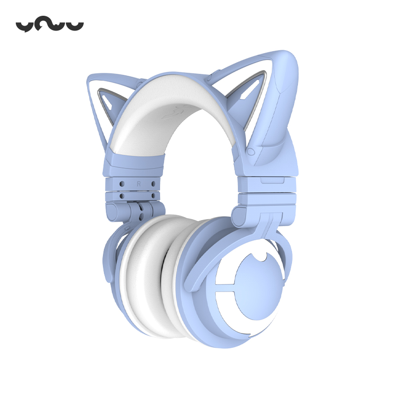 妖舞yowu猫耳3s头戴式无线可爱耳机质量好不好