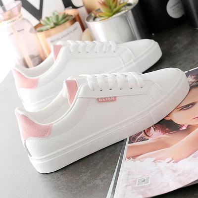 官方旗舰店官网君安踏莎行小白鞋女2021年新款透气板鞋女鞋春夏季