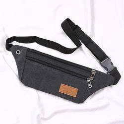 手机袋子布袋便携斜挂老人手机腰包贴身骑行包男女钱包手机包