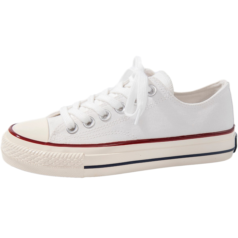 Leap women's shoes summer canvas shoes women ulzzang small white shoes wild 2021 new breathable casual shoes