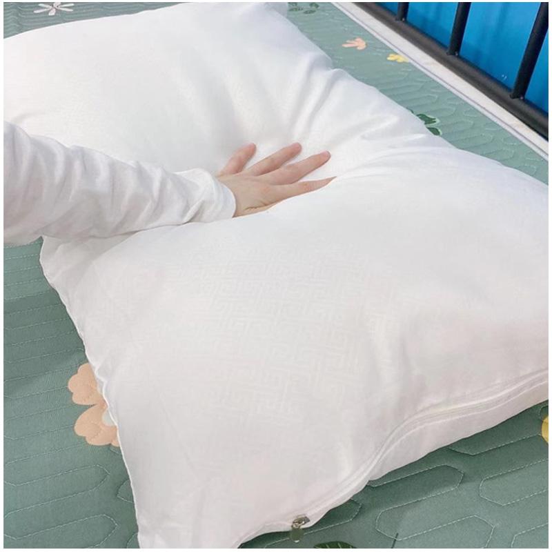 嬌謎泰國乳膠枕頭原裝進口天然橡膠兒童枕芯記憶護頸椎助睡眠一對