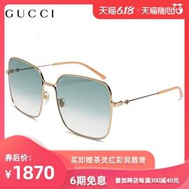 GUCCI古驰倪妮同款太阳眼镜女小蜜蜂大方框街拍墨镜GG0443S图片