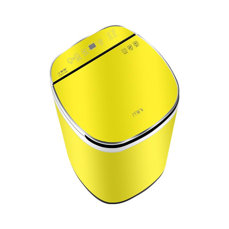 小黄鸭全自动小型5.5 kg家用洗衣机评价如何