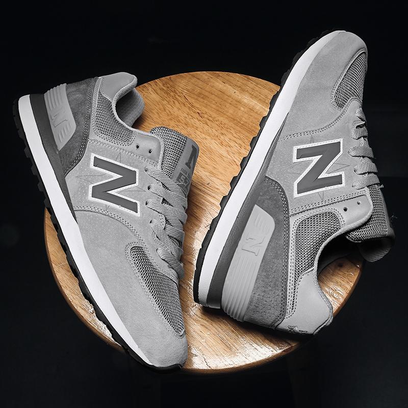 豪新百伦斯凯透气运动鞋夏季NB品牌574跑步鞋网面情侣休闲旅游鞋