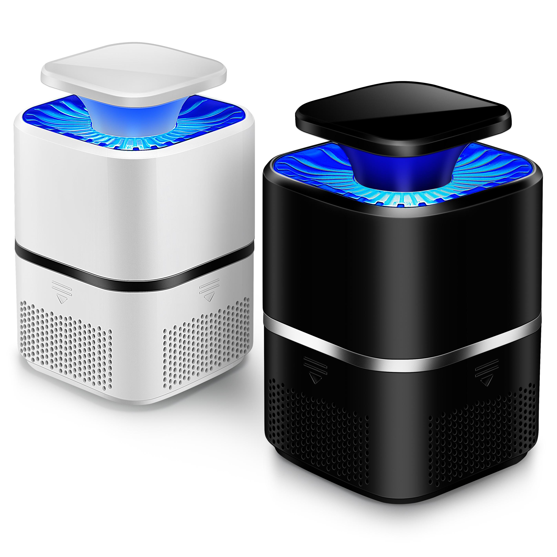 家用灭蚊灯神器光诱导室内诱蚊灯静音灭蚊器自动减蚊灯紫光诱导