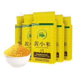 晋襄谷缘黄小米山西特产小黄米粥2019新米五谷杂粮月子米500g*5袋