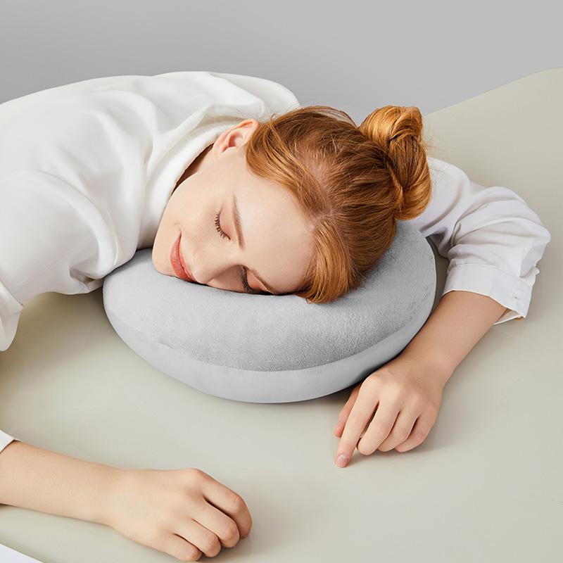 淘宝心选U型枕进口粒子超轻便携午睡枕U型枕头旅行U枕zfb