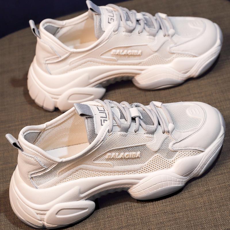 老爹鞋子2021年新款女鞋百搭春季爆款超火小白休闲运动鞋ins潮夏