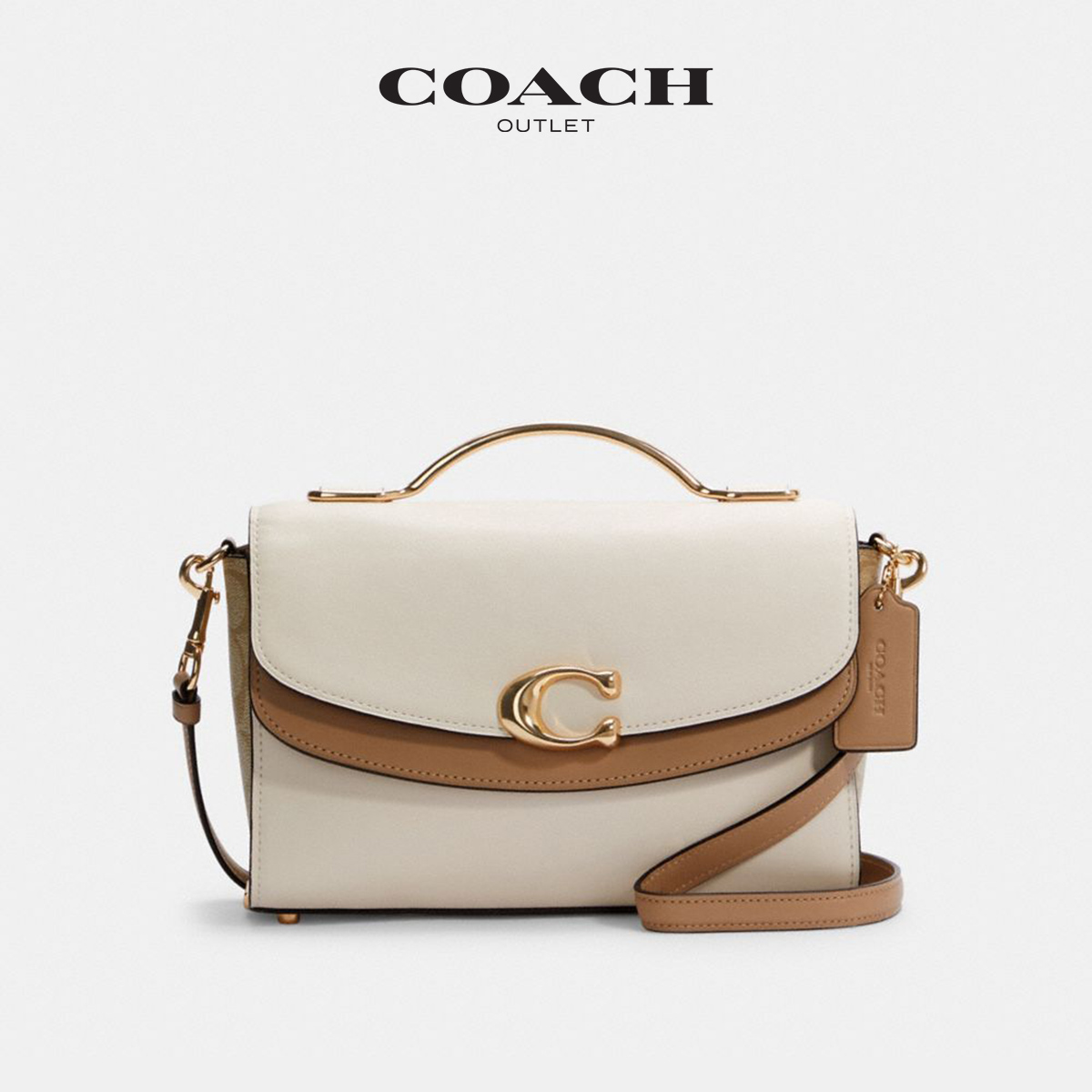 COACH / Coach Ms. Color Color Classic Sign Celia Double Flip Capsule Bag