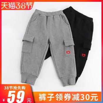 【小猪班纳】春秋款男童工装裤