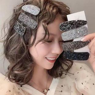 韩版 7爆款 刘海贴女发夹魔法贴碎发贴粘头发贴碎发发帖气质网红女