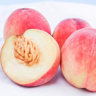 陕西水蜜桃新鲜水果桃子软甜多汁大毛桃当季现摘现发孕妇带箱5斤