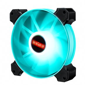 台式电脑机箱风扇12cm 水冷散热风扇神光rgb静音风扇LED双光圈