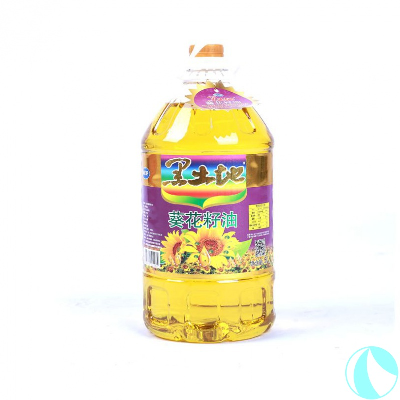 Black earth sunflower seed oil 5L pressing first grade process
