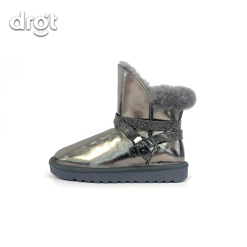 W266时尚冬短筒加绒短靴棉鞋X2744
