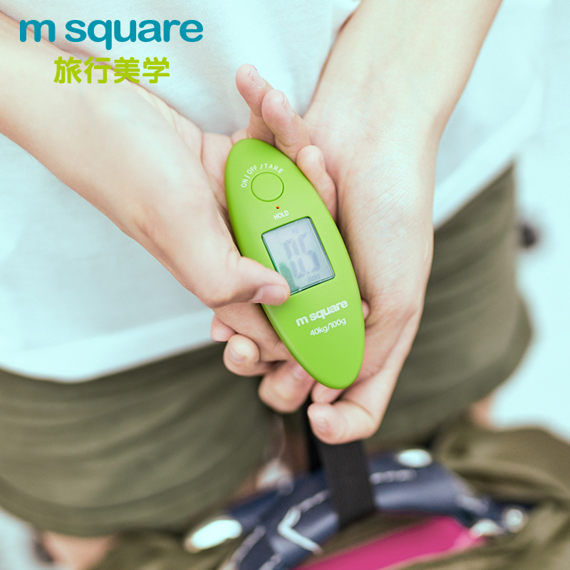 Outdoor portable electronic hand scale 100g-40kg luggage portable hook Mini luggage scale