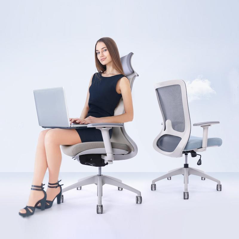 高档圣奥云格老板椅可躺电脑椅家用可拆卸坐垫人体工学椅舒适办公