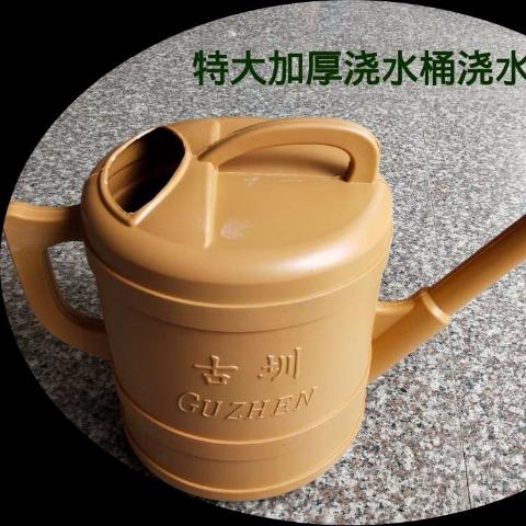 Gardening supplies watering pot thickened plastic watering pot spray bucket watering pot watering flower watering vegetable bucket extra large watering u3002
