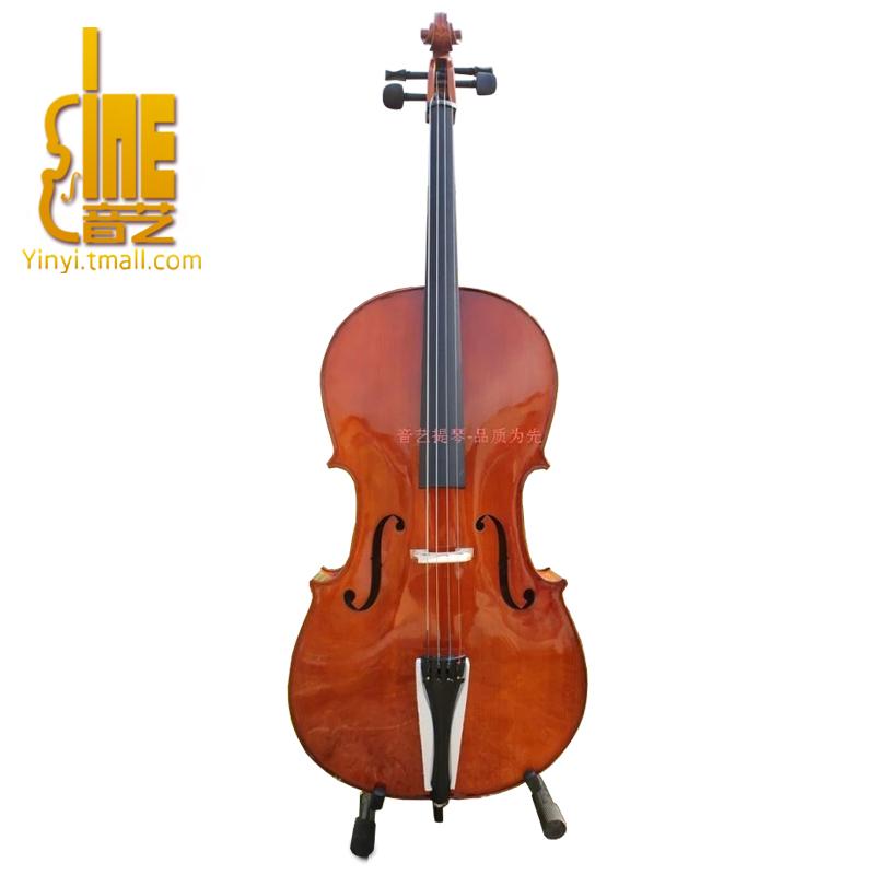 正品音艺正品手工高档成人亚光大提琴专业级纯实木初学者儿童演奏