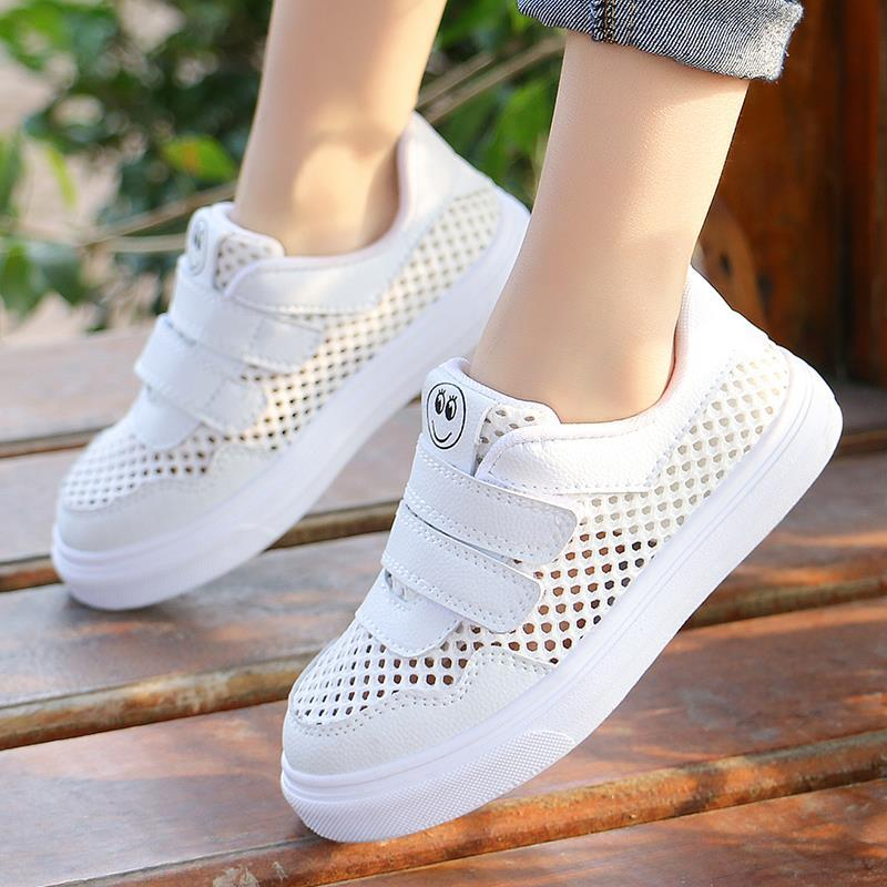 [single net optional] childrens shoes girls Sports Shoes Boys leisure breathable net shoes spring and autumn students Korean shoes